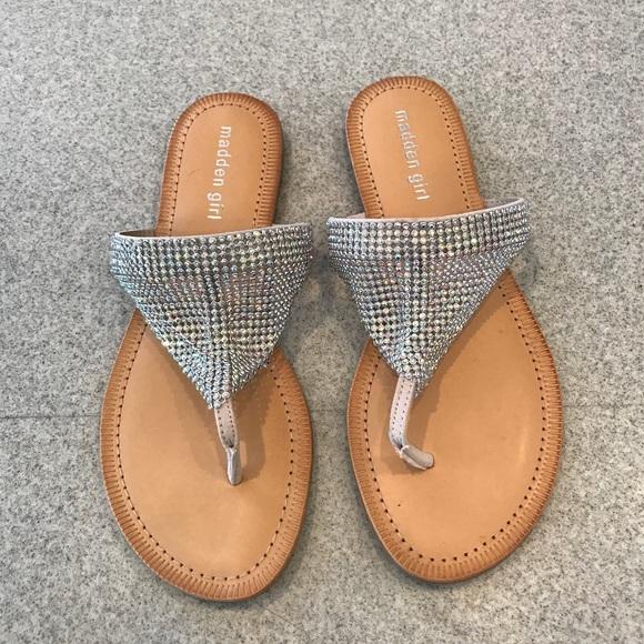 Nwot Madden Girl Sparkly Sandals Sabeer